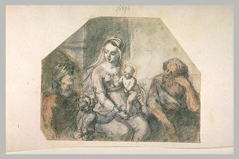 Vierge à l'Enfant avec sainte Elisabeth, Joseph, et le petit saint Jean