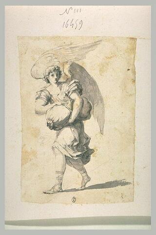 Ange portant un sac