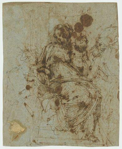 La Vierge à l'Enfant avec sainte Catherine d'Alexandrie et saint Ambroise