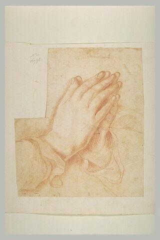 Deux mains jointes