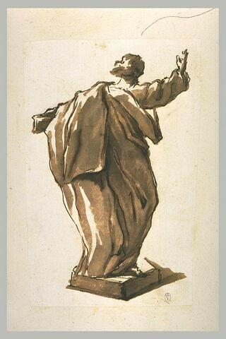 Statue d'un évangéliste