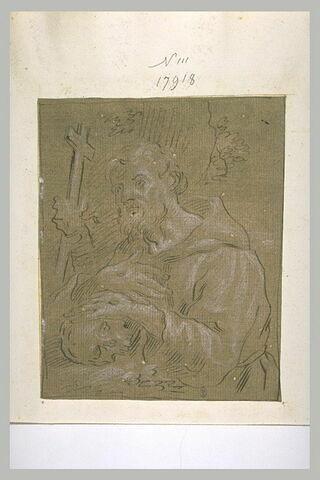 Saint Bruno méditant ?