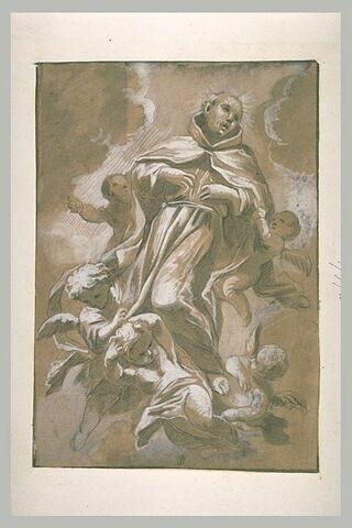 Apothéose de saint pierre d'Alcantara
