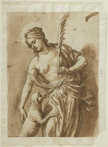 Sainte Agnès avec l'Agneau