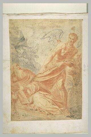 Saint Antoine assailli par le démon
