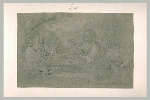La rencontre de Rébecca et Eliézer