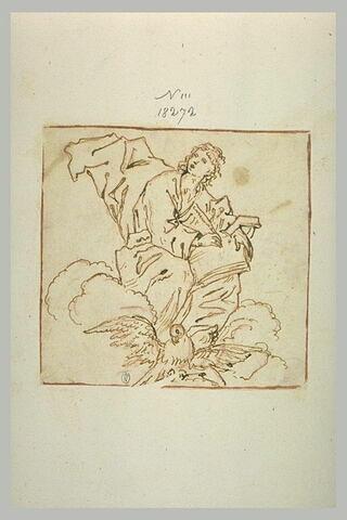 Saint Jean l'Evangéliste écrivant