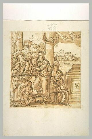 La Vierge et l'Enfant entourés des saints Pierre, Jean-Baptiste et Catherine