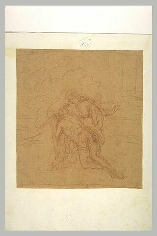 Le Christ mort sur les genoux de la Vierge