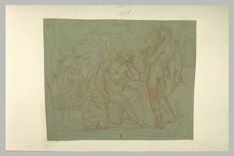 Mercure devant Argos gardant Io