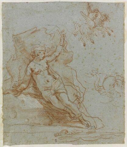 Persée délivrant Andromède attachée