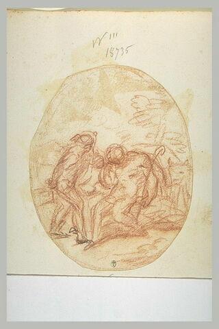 Mercure devant Argos et Io