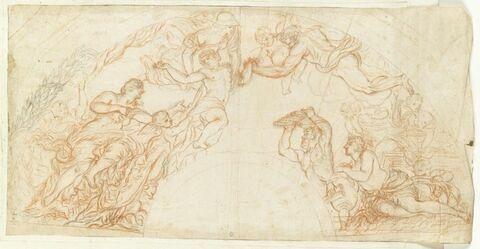 Pallas enlève l'adolescence des bras de Vénus