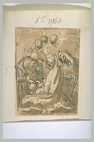 Sainte Famille avec sainte Anne