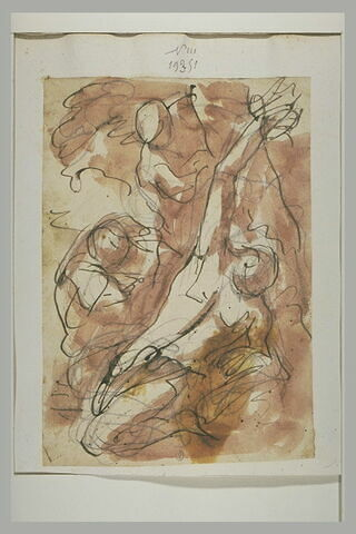 Saint Sébastien soigné par sainte Irène et ses compagnons