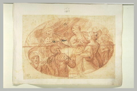 Salomé apportant à Hérode et Hérodiade la tête de saint Jean-Baptiste