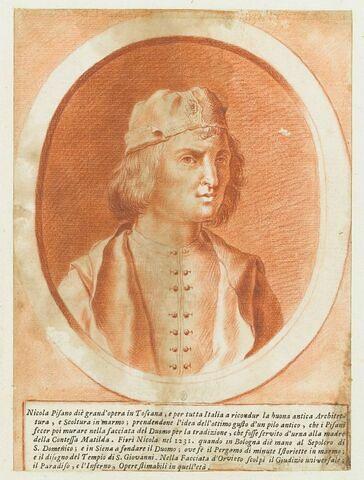 Portrait en buste de Nicola Pisano