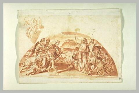 Saint Léon arrêtant Attila