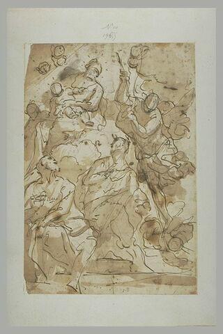 Vierge à l'Enfant avec sainte Anne, l'archange Saint Michel et saint Joseph
