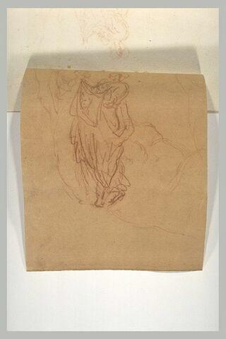 Deux études pour sainte Véronique présentant la Sainte Face