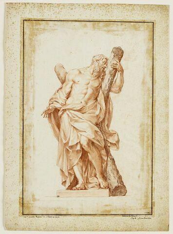 Saint André embrassant sa croix