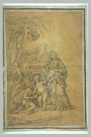 La Sainte Famille avec le petit saint Jean