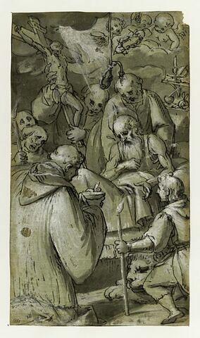 La dernière communion de saint Jérôme