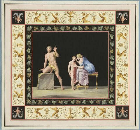 L'éducation d'Achille par le centaure Chiron