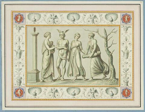 La naissance et l'éducation de Dionysos