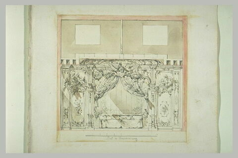 Etude de décoration architecturale
