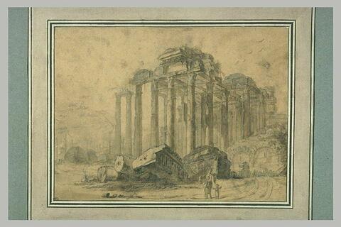 Ruines d'un temple antique