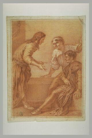 Joseph racontant son rêve au panetier et à l'échanson