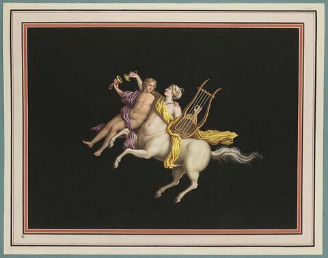 Centaure et une centauresse