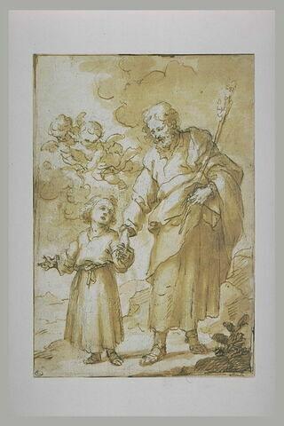 La Promenade de saint Joseph et du Christ enfant