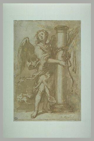 Ange avec les instruments de la flagellation