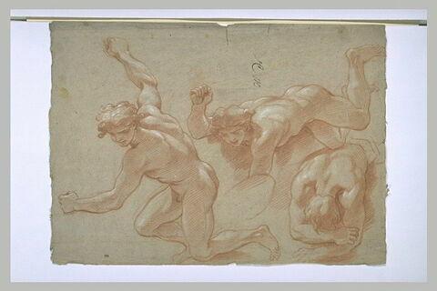 Trois hommes nus