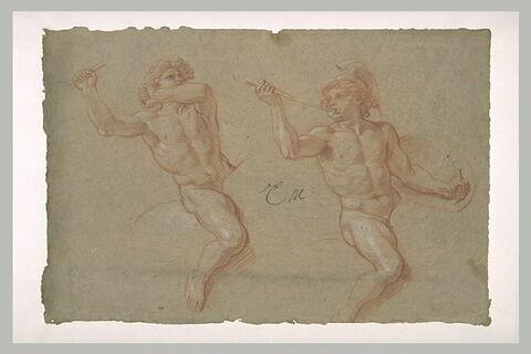 Deux cavaliers nus
