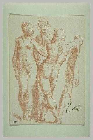 Hercule et deux autres figures