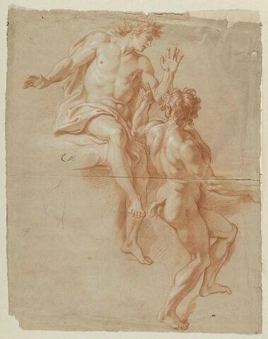 Bacchus et un satyre