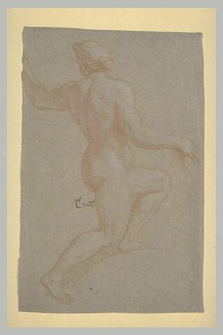 Femme nue, tournée vers la droite