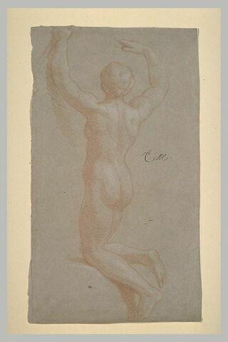 Figure nue, vue de dos