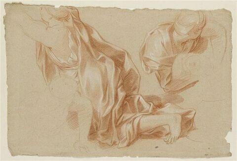 Deux draperies