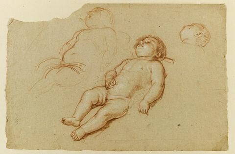 Enfant endormi ou mort