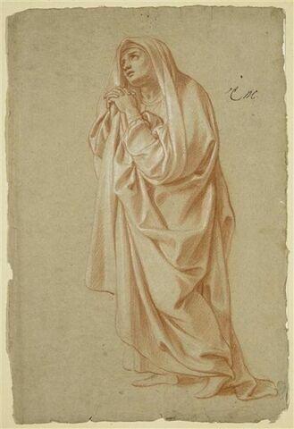 Femme debout, drapée