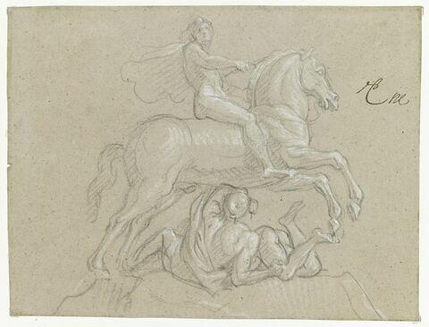 Louis XIV, à cheval