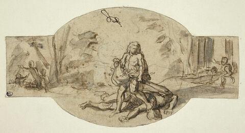 Hercule emportant les pommes d'or du jardin des Hespérides