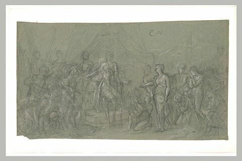 Alexandre pardonnant à Timoclée