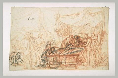 Alexandre et son médecin Philippe