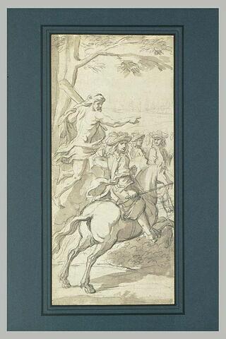 Louis XIV, guidé par Hercule