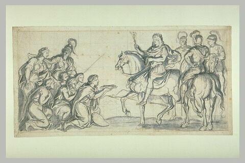 Louis XIV recevant l'hommage de la Franche-Comté